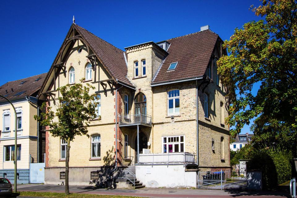 Architekturbüro Hinkelmann, Hafenstrasse 14,59067 Hamm | Herrenhaus aus dem Jahr 1848
