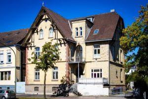 Herrenhaus aus dem Jahre 1848 an der Ostenallee.