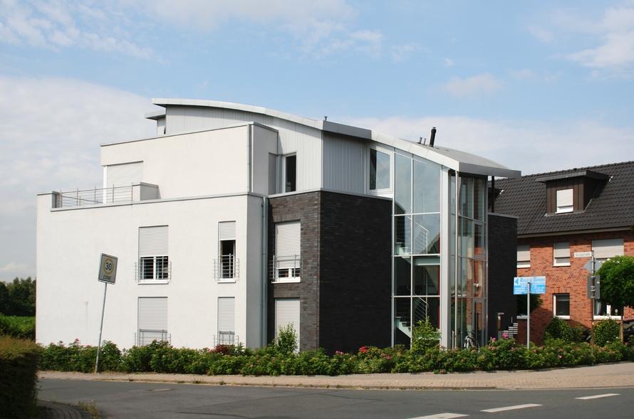 architektonisch ausgezeichnetes Gebäude welches Wohnen und Arbeiten unter einem Dach vereint.