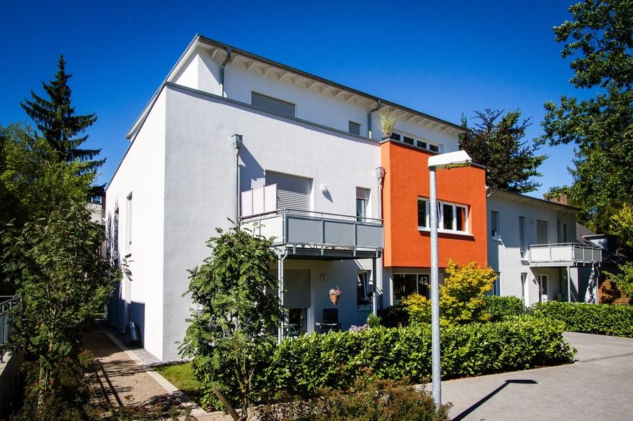 10-Familienhaus mit 2 Penthäusern im Passivhausstandart geplant.