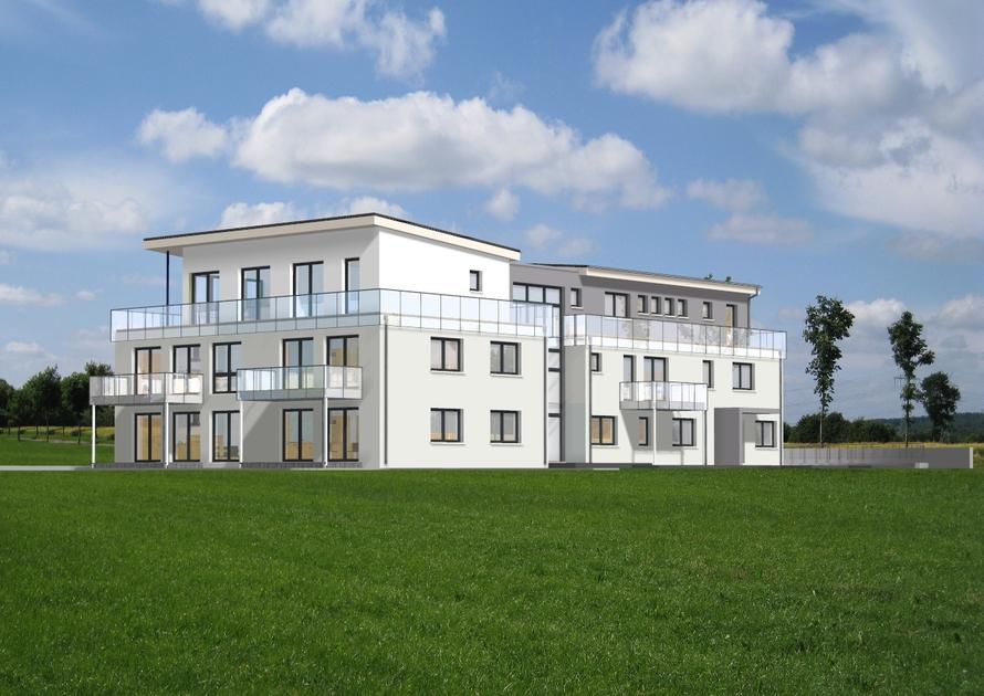 Neubau eines 10 Familienwohnhauses mit Tiefgarage
