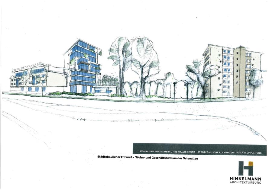 Architekturbüro Hinkelmann, Hafenstrasse 14,59067 Hamm | Ostentower