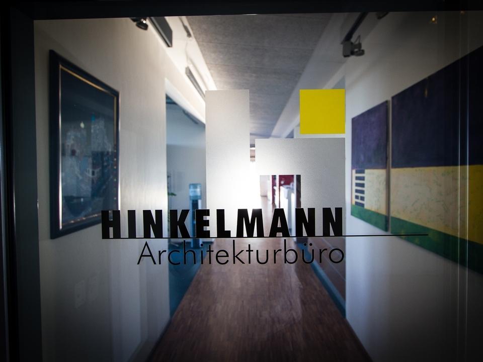 Architekturbüro Hinkelmann | Eingang des Architekturbüros Hinkelmann, Hafenstrasse 14,59067 Hamm