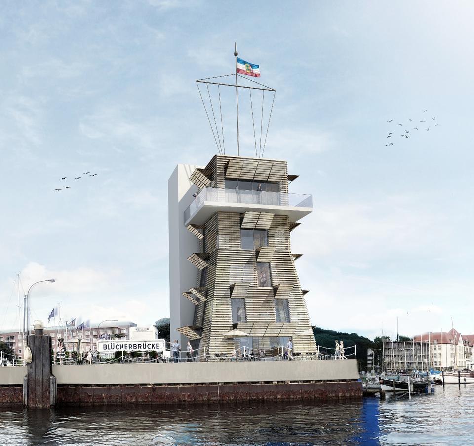 Architekturbüro Hinkelmann, Hafenstrasse 14,59067 Hamm | Blücherturm